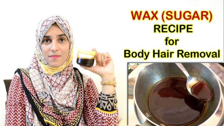 How to make & use WAX (Sugaring)    Easy & Quick way to remove body hair