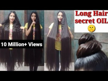 My Long Hair 🤫 Secret Oil With Home Made | Long Hair Care. | INDIAN GLAMOUR. 1