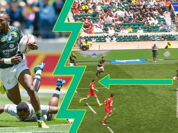 Blitzboks Brilliance 🤩 Top 10 Tries | South Africa | World Rugby Sevens 1