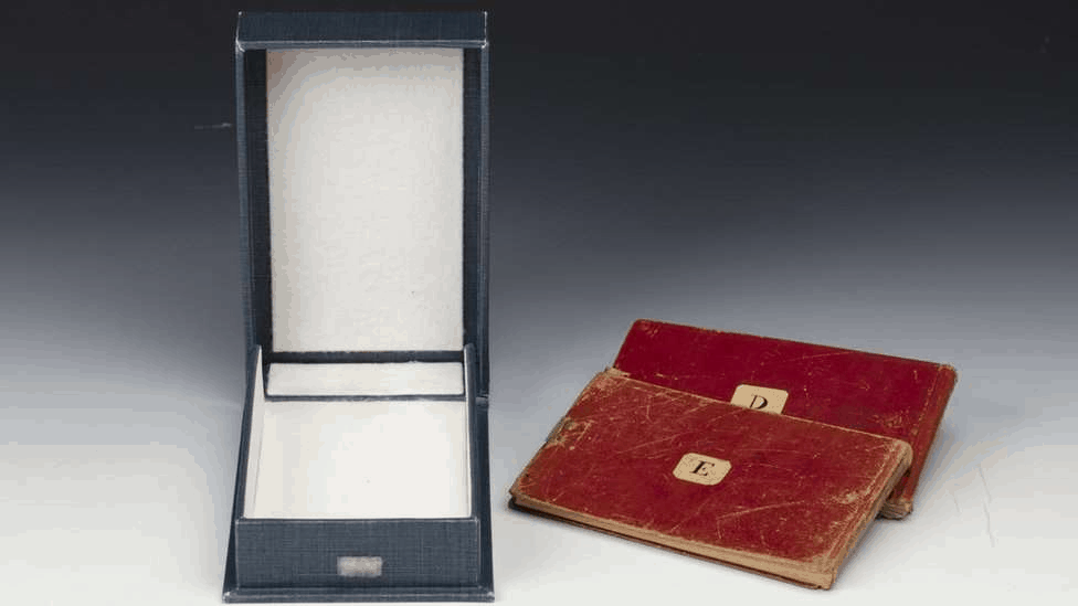 Cambridge University Library have appealed for the notebooks to be returned