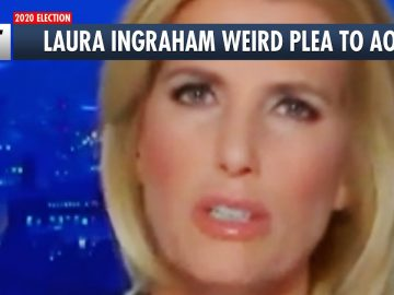 Laura Ingraham's Desperate Plea To AOC
