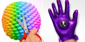 EASY AND COOL ARTWORK HACKS || 24 Satisfying Ideas with Slime