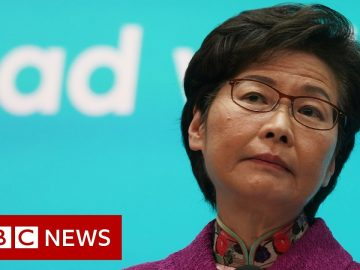 Carrie Lam: HK has become a 'gaping hole' in China's National Security- BBC News