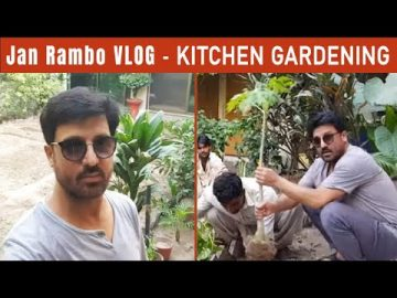 Jan Rambo Vlog | Kitchen Gardening 9