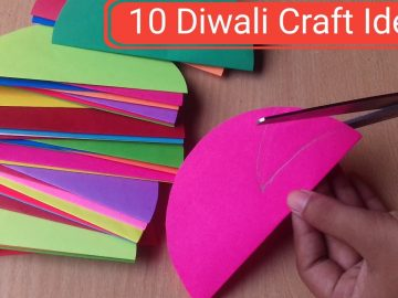 10 Easy Home Decoration Ideas For Diwali | Diwali Decoration Ideas | Craft gallery 8