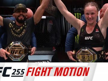 UFC 255: Fight Motion
