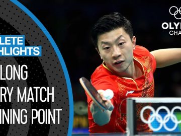 Ma Long 🇨🇳 - The best Olympic table tennis player of the decade? | Athlete Highlights 2