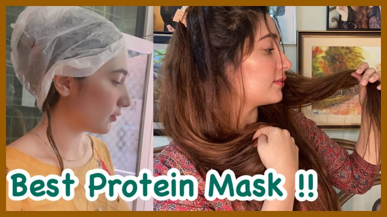 Hair Protein Mask - For Dead , Damaged And Dry Hair !! Amazing Results 😍 1