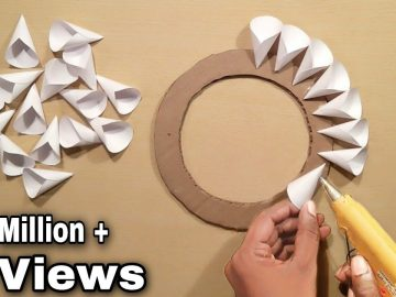 Easy Home Decoration Ideas - Wall Hanging Crofts - Paper Crafts - Home Decoration - Handmade 12