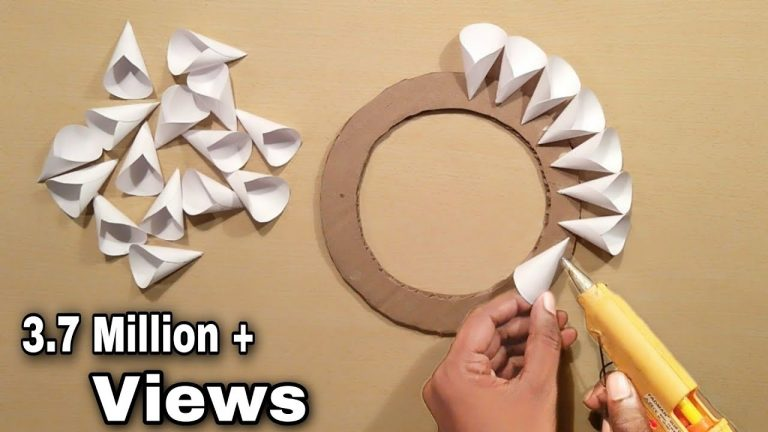 Easy Home Decoration Ideas - Wall Hanging Crofts - Paper Crafts - Home Decoration - Handmade 1