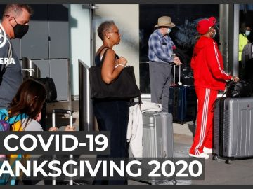 A very COVID Thanksgiving: US travellers defy warnings