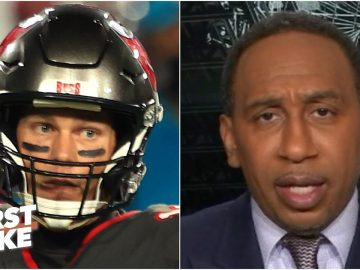 Stephen A. still trusts Tom Brady despite his struggles vs. the Rams | First Take