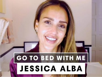 Jessica Alba's Nighttime Skincare Routine | Go To Bed With Me | Harper's BAZAAR 5