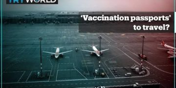 'Vaccination passports' for international travellers?