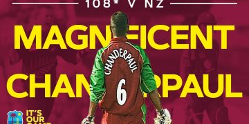 Chanderpaul Hits Magnificent Match-winning 108*!   West Indies v New Zealand 2nd ODI 2002