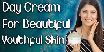 Homemade Day Cream for Youthful Skin / Winter Day Cream for Soft Beautiful Skin - Ghazal Siddique