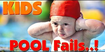 KIDS Pool Fails #Best Fails EVER..! #spartaa vlogsf 5
