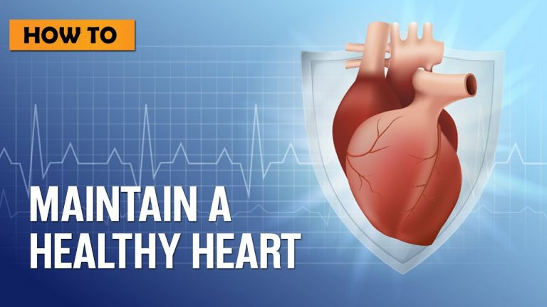 How to maintain a Healthy Heart