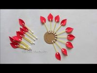 Paper Craft For Home Decoration | Wall Hanging Ideas | Paper Flower Wall Hanging | Paper Craft. 5