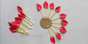 Paper Craft For Home Decoration | Wall Hanging Ideas | Paper Flower Wall Hanging | Paper Craft. 7
