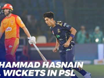Muhammad Hasnain All Wickets | HBL PSL 2020 | MB2T