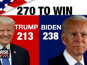 24 hrs and counting, US election result still awaited. Anyone can win 3