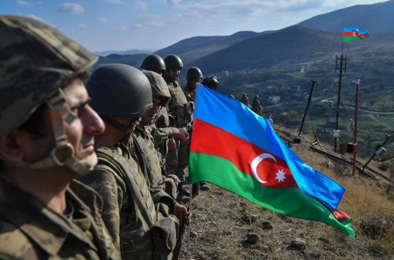 Azerbaijan said its forces had captured the key town of Shusha from Armenian paratists 1