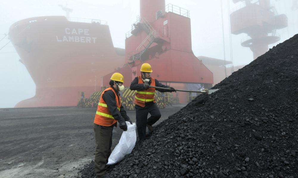 China increases coal import quotas but Australia may be excluded 5