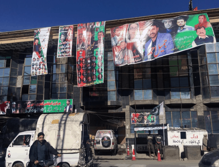 PTI Party, which promised to upgrade the Himalayan region's status, won 10 of the 23 seats. 3