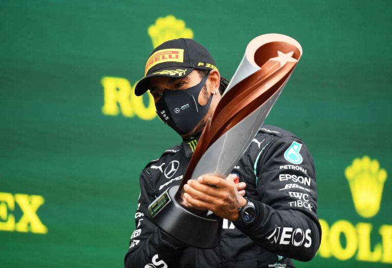 Success means nothing without change, says Hamilton 1