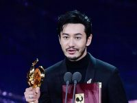 Huang Xiaoming, Zhou Dongyu picked up Best Actor at the 33rd edition of the Golden Rooster Awards. 7