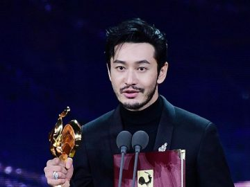 Huang Xiaoming, Zhou Dongyu picked up Best Actor at the 33rd edition of the Golden Rooster Awards. 13