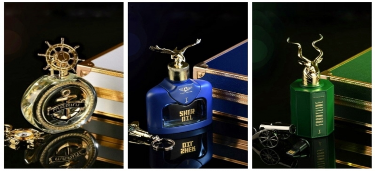 The J. has introduced three new fragrances named Frontline, Sherdil and Marine. 1
