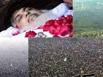 Khadim Hussain Rizvi's funeral one of the biggest in Lahore's history 9