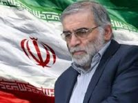 Terrorists murdered an eminent Iranian scientist today 14