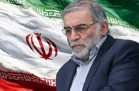 Terrorists murdered an eminent Iranian scientist today 16