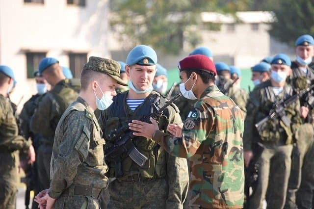 Pakistan-Russia joint military exercise underway at Tarbela 1