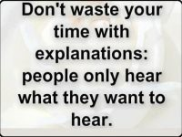 Do not waste your time with explanations. 46