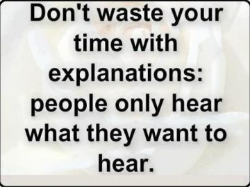 Do not waste your time with explanations. 24