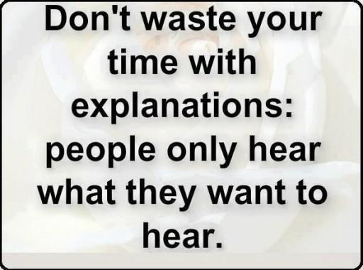 Do not waste your time with explanations. 1