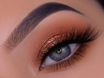 How to grow long eye lashes and eye brows. 6