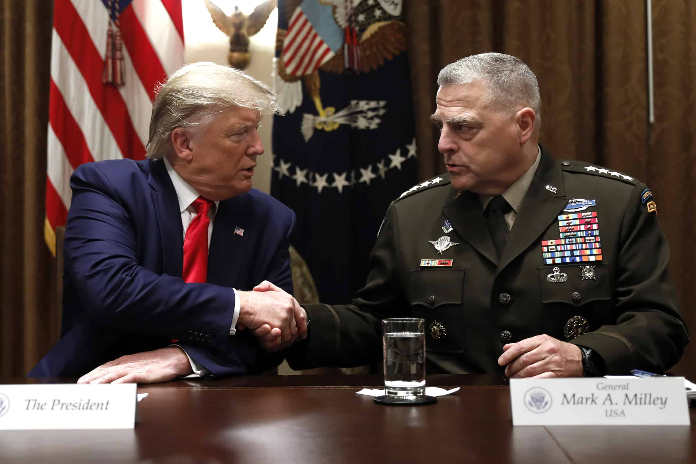 US military wary Pentagon shakeup could upend its apolitical nature. 4