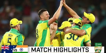 Batting onslaught, classic catches see Aussies seal 2-0 ODI series win | Dettol ODI Series 2020