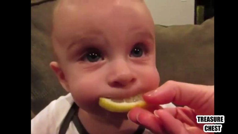 Just insanely funny reactions of children! Try not to laugh! 1