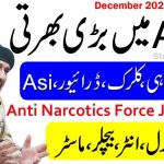ANF Jobs 2020,Anti Narcotics Force Jobs 2020, Application form download