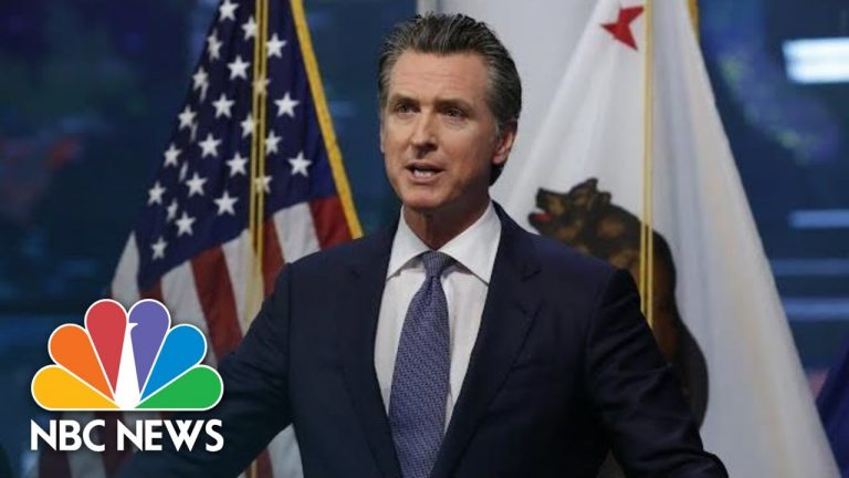 California Gov. Newsom Holds Covid-19 Briefing | NBC News