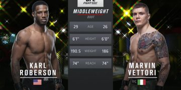 Free Fight: Marvin Vettori vs Karl Roberson