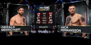 Free Fight: Jack Hermansson vs Gerald Meerschaert