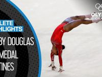 Gabby Douglas 🇺🇸 - The First African American Olympic All-Around Champion | Athlete Highlights 18