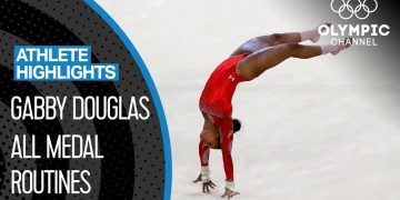 Gabby Douglas 🇺🇸 - The First African American Olympic All-Around Champion | Athlete Highlights 7